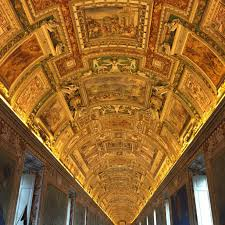 Map Room Library Vatican City It Was In Map Room In Vatican Museum