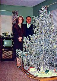 vintage aluminum christmas tree aluminum christmas tree the pom pom sparkler home