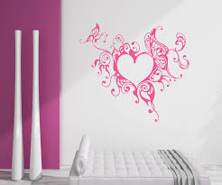 Decoration Wall Decals For Teens by Heart Wall Decoration Dumbfound Diy Crafts Wall Decor For