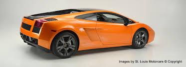 Lamborghini Gallardo Orange - stock 2876c used 2006 lamborghini gallardo st louis missouri