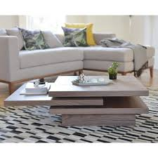 brown square coffee table rotate square coffee table walnut dwell