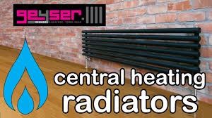designer radiators central heating guide to heat output