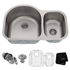 what size undermount sink fits in 30 inch cabinet 30 undermount 16 stainless steel 60 40 bowl kitchen sink