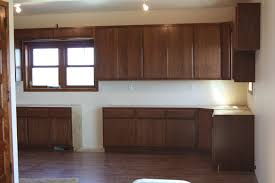 home decor medium stained oak kitchen cabinets mahaska custom