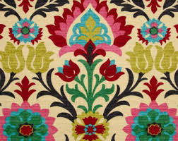 Upholstery Fabric For Curtains Ships Same Day Pink Floral Upholstery Fabric By The Yard Mexican