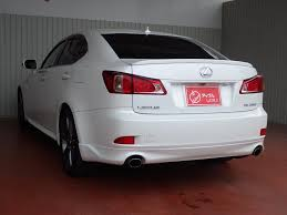 lexus is250 japan spec lexus is 250 f sports japanese used vehicles exporter tomisho