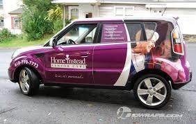 Home Instead by Home Instead Health Care Kia Soul Car Wrap Allentown Pa Lehigh