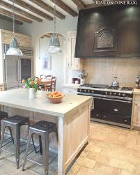 tone on tone a beautiful french inspired kitchen with limestone