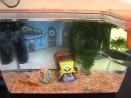 sponge bob square 15 litre fish tank accessories