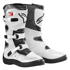 motocross boots kids alpinestar tech 3s kids youth motocross boot white 1stmx co uk
