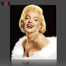 online get cheap marilyn monroe paintings aliexpress com
