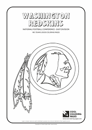 redskins coloring pages best 9115