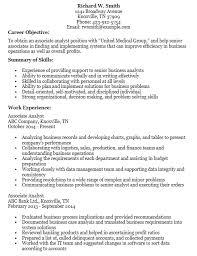 sample resume for senior business analyst associate business analyst resume business analyst resume