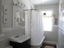 Claw Feet For Bathtub Shower Curtain For Clawfoot Tub Bathroom Contemporary With Bath
