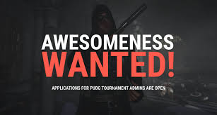 pubg tournament esports news gosugamers is looking for tournament admins with an