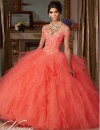 quinceanera dresses with straps coral quinceanera dresses cheap custom made beading