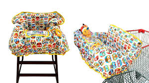 baby shopping cart cover 2 in 1 high chair cover large u2013 spranster