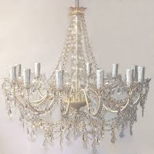 Ivory Chandelier Fifi Ivory Chandelier By West Notonthehighstreet