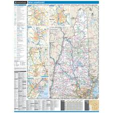 Wall Map Rand Mcnally Proseries Regional Wall Map New England