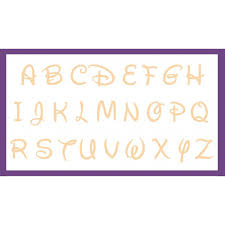 disney font laser letters 3mm thickness select size of