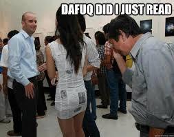 Dafuq Girl Meme - dafuq did i just read misc quickmeme