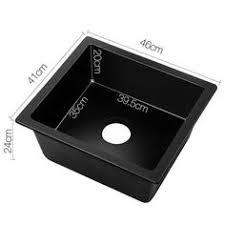Cheap Kitchen Sinks Black Kitchen Sink Black 57 X 50 X 22 5cm Buy Kitchen Sinks 222
