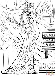 lothlorien coloring page free printable coloring pages