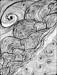 wind u0026 water coloring page creative life studio