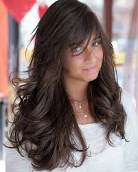 long haircut feathered up sides 40 side swept bangs to sweep you off your feet brown hairstyles