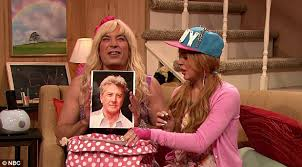 lindsay lohan joins jimmy fallon for hilarious ew sketch
