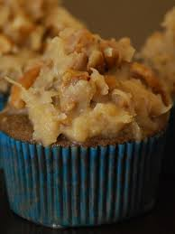 my story in recipes german chocolate cupcakes