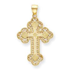 byzantine crosses 14kt filigree byzantine cross orthodoxgifts