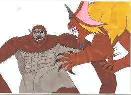 who is the beast titan attack on titan king caesar vs beast titan by tyrannuss555 on