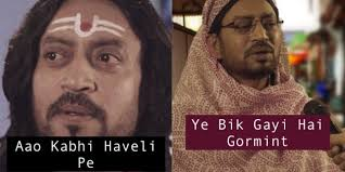 Meme India - all india bakchod got irrfan khan to recreate internet s most