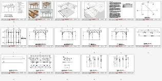pergola design ideas pergola plans pdf engineering plans elegant
