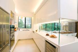 kitchen glass wall cabinets simple ideas to change your kitchen with glass