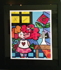 britto garden romero britto contemporary pop art