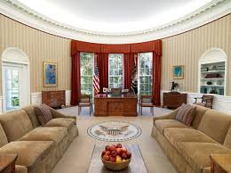 oval office decor history why is the oval office an oval artsy
