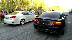 audi a4 vs lexus is350 lexus is 250 v6 vs audi a5 2 0 tfsi