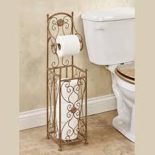 toilet paper stand kadalynn satin gold toilet paper holder stand
