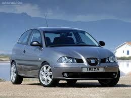 seat ibiza 3 doors specs 2002 2003 2004 2005 2006