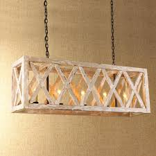 Rectangular Island Light Chandelier Brass Chandelier Linear Chandelier Wood Globe