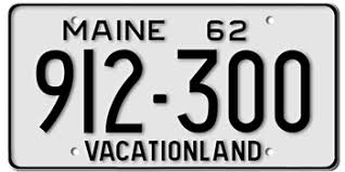 Maine State Vanity Plates Maine License Plates New U0026 Classic Car Licenses Maine State