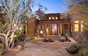 southwest landscape design christmas lights decoration