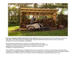 Plans For Building A Firewood Shed by How To Build A Firewood Shed