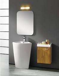 Bathroom Pedestal Sinks Ideas by Modern Round Pedestal Sink Idea For Small Bathroom Design Small