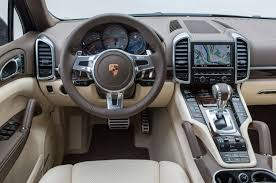 Porsche Cayenne Umber Metallic - view 2015 2016 cayenne interior natural espressocognac interior