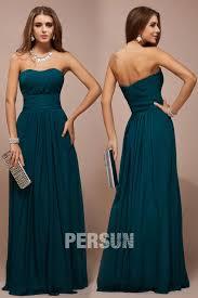 robe pour temoin de mariage robe longue simple bustier coeur en mousseline pour témoin mariage