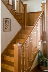 Wooden Stair Banisters Modern Interior Stair Railings Mestel Brothers Stairs Rails Inc