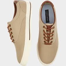 Tan Republic Bend Oregon Tommy Hilfiger Paulie Tan Canvas Sneakers Men U0027s Casual Shoes